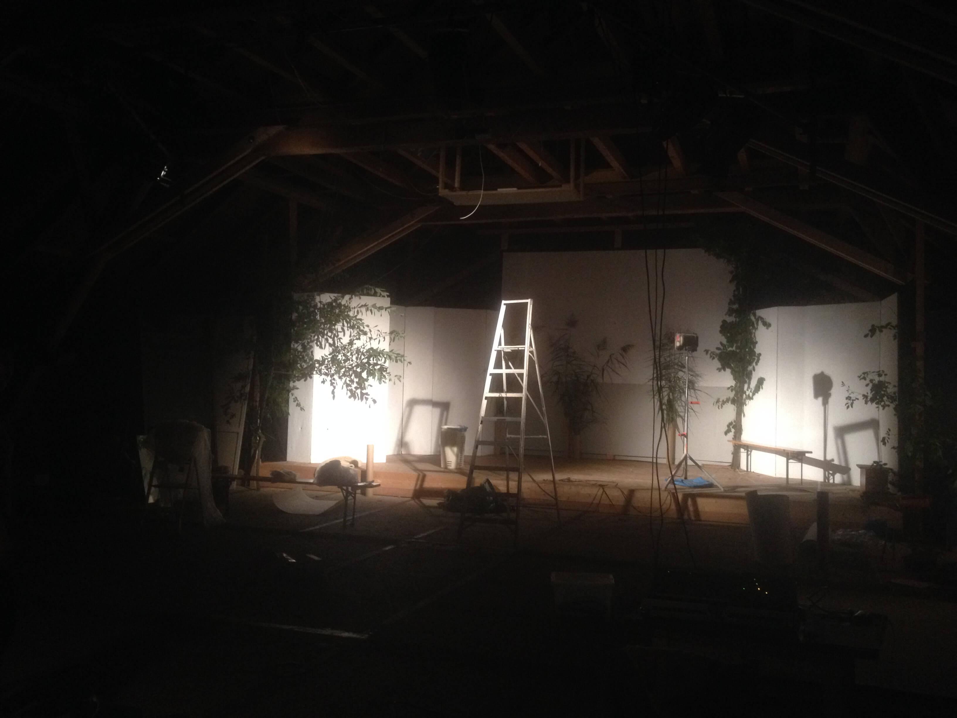 WK Bühnenaufbau